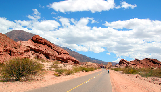 Northern Argentina Biking Tour
